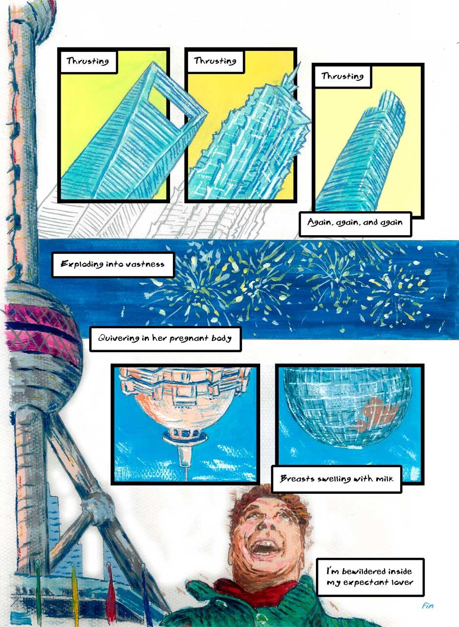 Bedding Shanghai comic, page 2