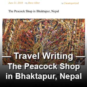 "Article: ""The Peacock Shop in Bhaktapur, Nepal"" Nepali Renaissance"