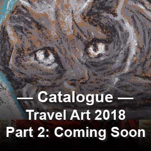 Dave Alber: Travel Art 2018: Part 2: Bad Year to Be a Cat and Other Stories